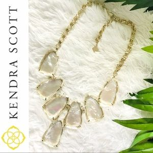 Kendra Scott Harlow Necklace-Mother of Pearl NWOT